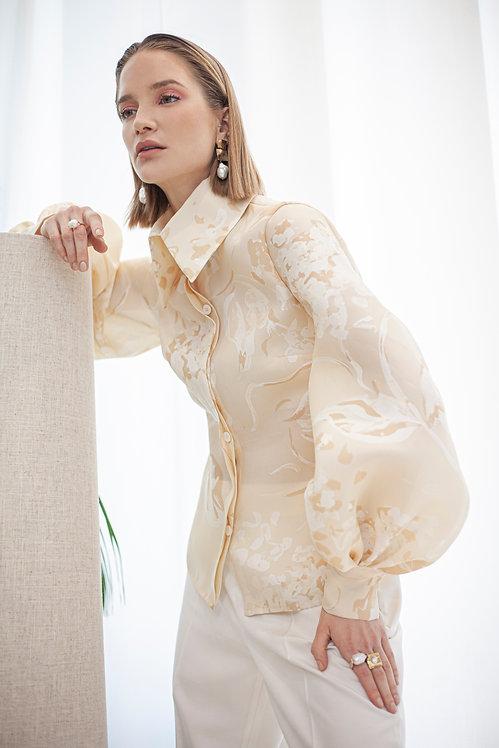 ALEKSANDAR ZABUNOVIC Silk Organza Shirt