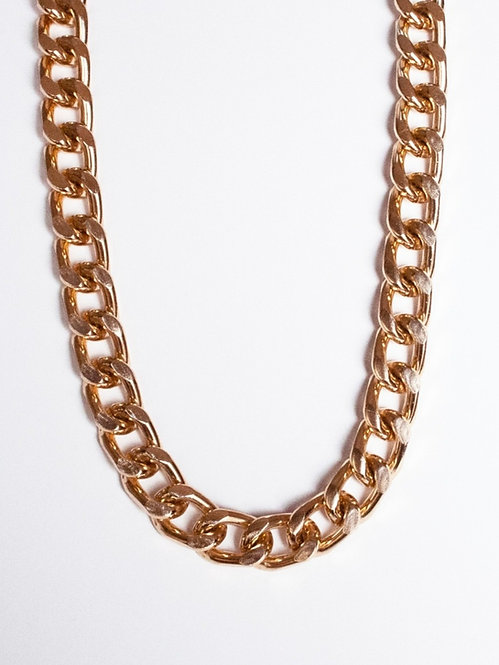 COSO DESIGN golden chain necklace