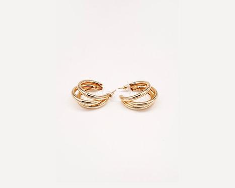 COSO DESIGN earrings golden