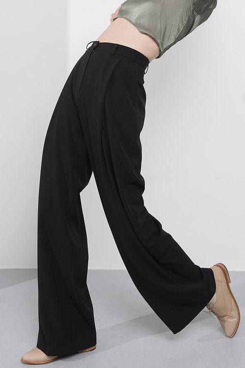 MARIJA RAJNA Black high-waisted pants