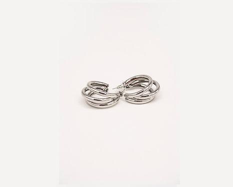 COSO DESIGN earrings silver