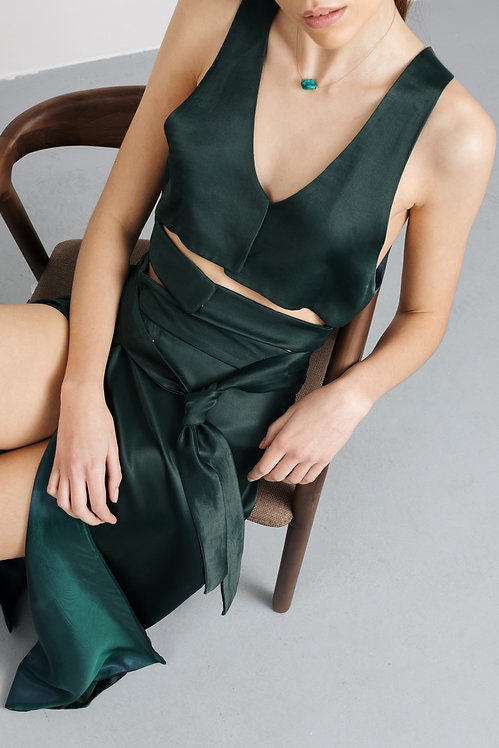 TIJANA MILUTINOVIC Emerald top