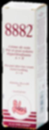 Crème visage 8882 de soin pré et post-solaire hyperlénifiante A+B