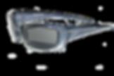 Lunettes solaires 8882 spéciales anti-infrarouge