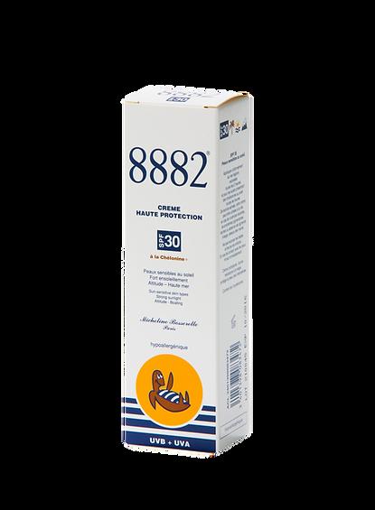 Crème solaire visage 8882 haute protection SPF 30 sans nanoparticules pour la ville, la mer ou la montagne