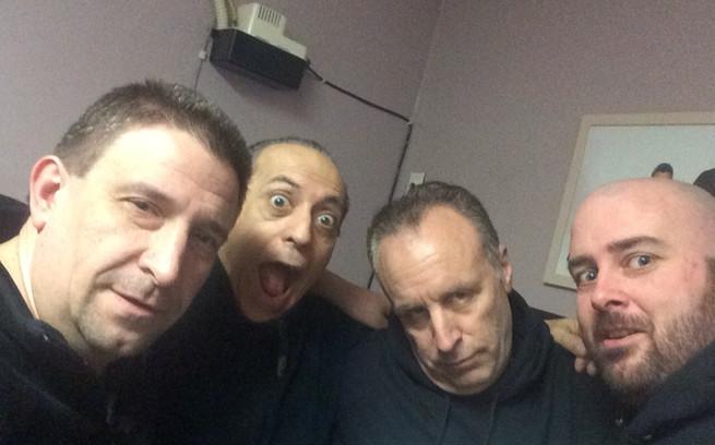Dino Ibelli, Vic Dibetetto & Ryan Maher