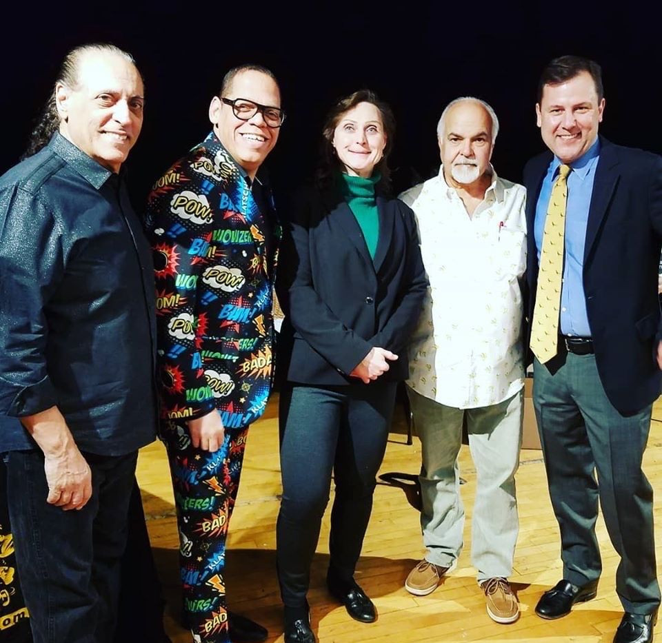 Greg Morton, Heather Darling, Gary Whyte & Tom Kean