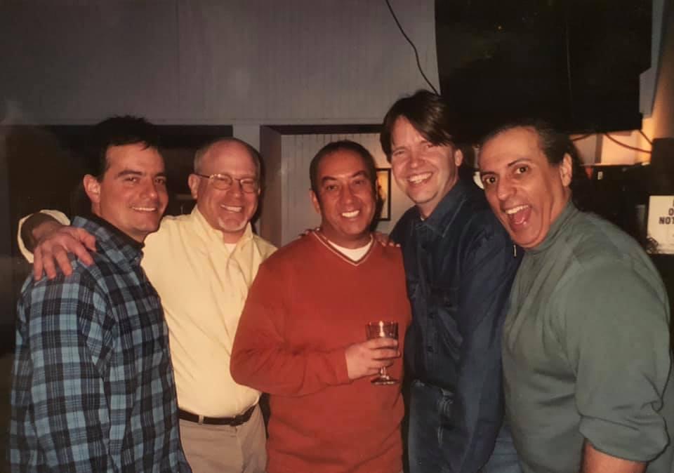 Dean Marchetti, Ed Finnegan, Gary DeLena & Ward Magnusson