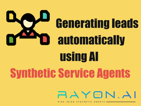 An emerging use of conversational AI is personalized lead generation.
