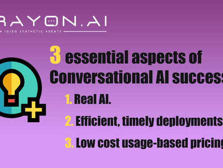 3 Essential Aspects of Conversational AI Success.
