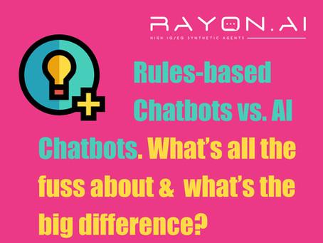 Rules-based Chatbots vs. AI Chatbots