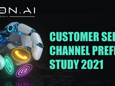 Customer Service Channel Preference Study 2021