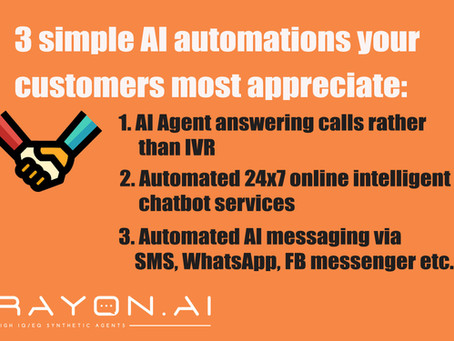 3 Simple AI Automations