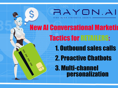 Winning AI Conversational Marketing tactics for retailers.