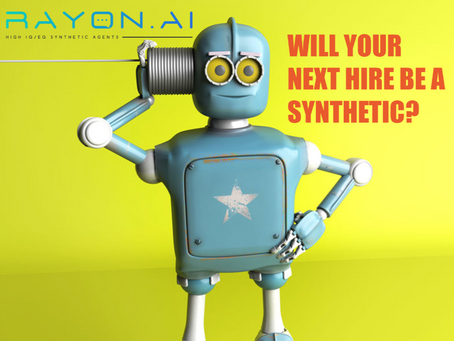 Will your next hire be a synthetic?