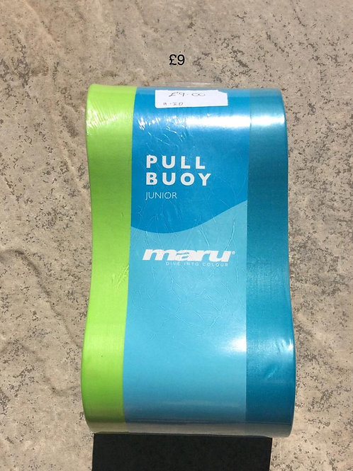Maru pullbuoy junior lime and teal