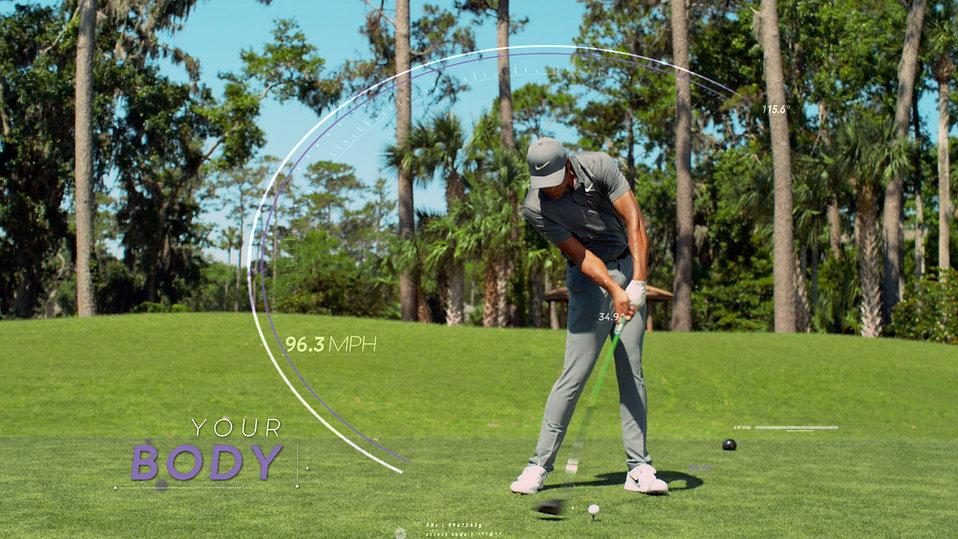 Massage Envy and PGA partnership graphics.
