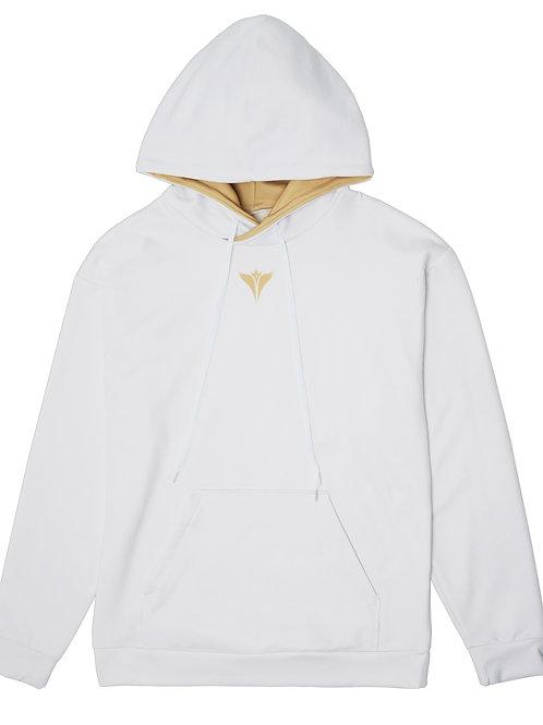 King Penguin Emblem Hoodie White
