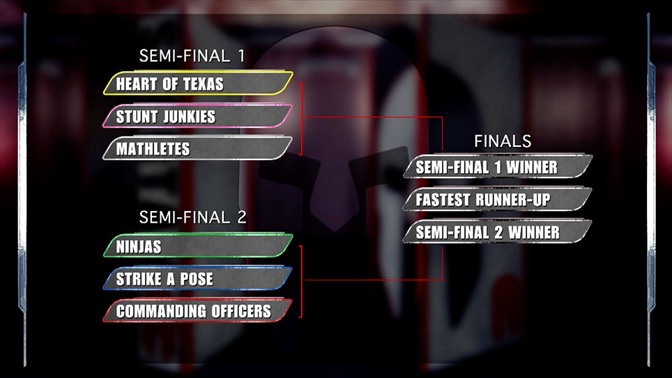 Spartan Ultimate Team Challenge competition graphics.
