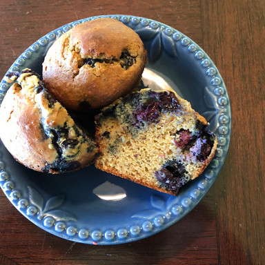 Peanut Butter & Blueberry Muffin Mojo!