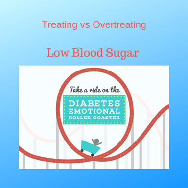 """The """"15/15 Rule"""" - to treat vs over treating low blood sugar"""