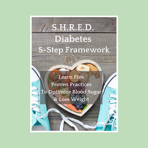 Revised S.H.R.E.D. Diabetes 5-Step Frame