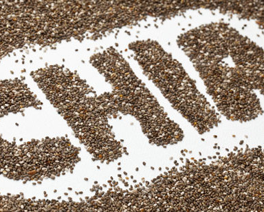 Super food - chia seeds (rid excess estrogens)