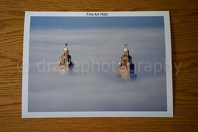 Rise Above Fog Liverpool print example
