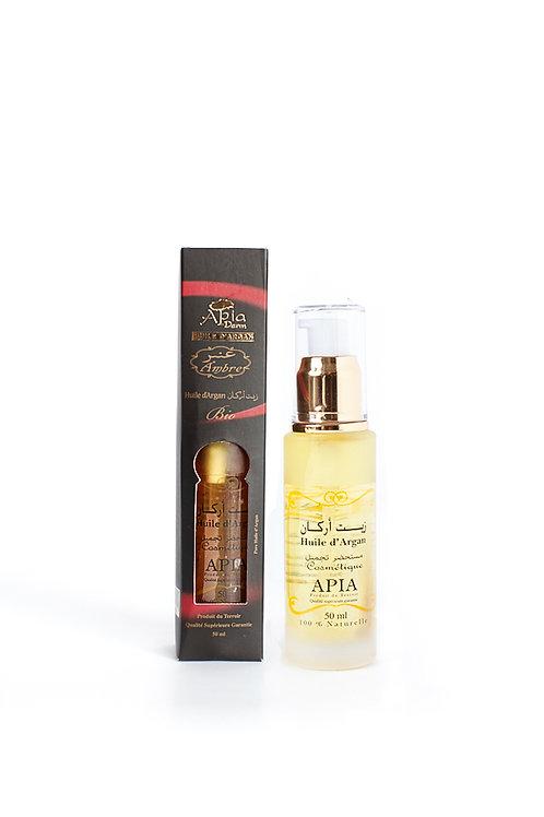 Amber argan oil