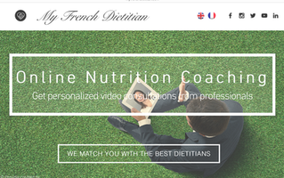 Book a video consultation with me on www.myfrenchdietitian.com