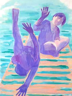 Iris Poljan, At the Lake