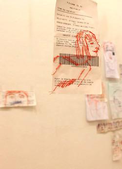 Iris Poljan, Receipt installation