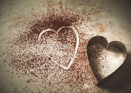 Cortador de biscoito de forma de coração