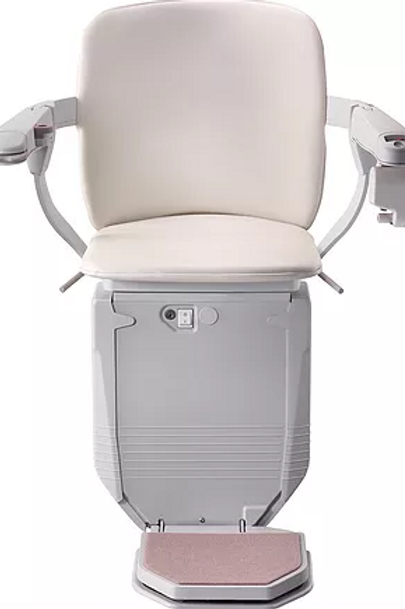 Reconditioned Stannah curved Stairlift carriage and seat