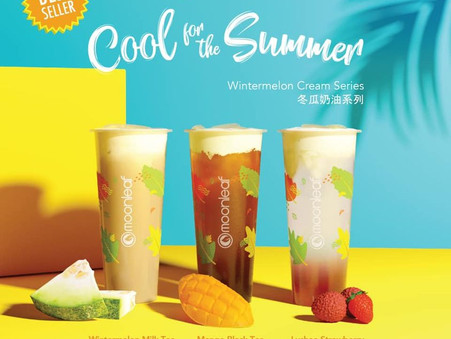 Start the new week right with our Cool for the Summer Wintermelon Series!