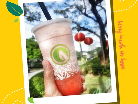 #BerryMuchInLove with our Strawberry Milk Slush with Nata.@boodlebear_ph and @nomnomclubcom
