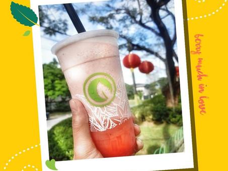 #BerryMuchInLove with our Strawberry Milk Slush with Nata.@boodlebear_ph and @nomnomclubcom