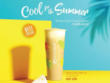 Cool down with this rich and creamy drink, packed with wintermelon flavor. Coming soon!