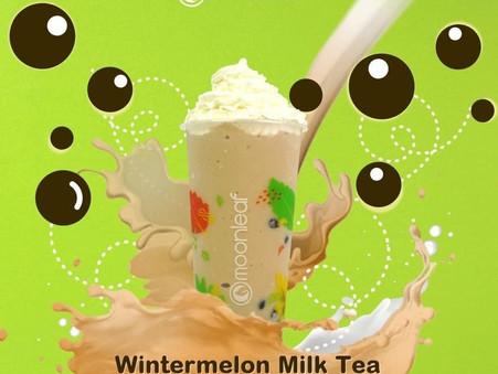 Hot day? Have some Wintermelon Milk Tea on-the-go!