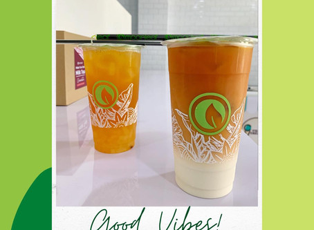 FRI-YAY with Lychee Jasmine Tea and Thai Milk Tea