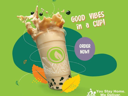 Sunday good vibes is just an order away!