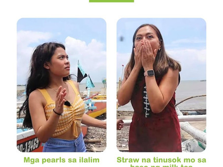 Promise, ganyan talaga yung reaction ng pearls!