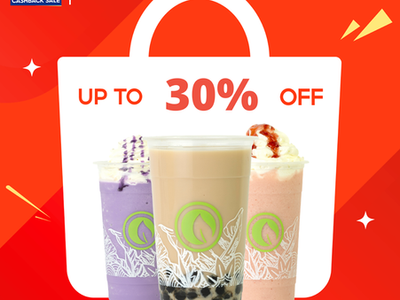 Looking for a sweet deal? What about a DOUBLE DOUBLE SALE?  #GoodVibesInACup #ShopeeDealsNearMe