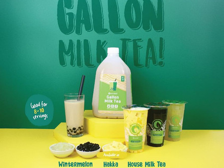 GALLON MILK TEA is here!