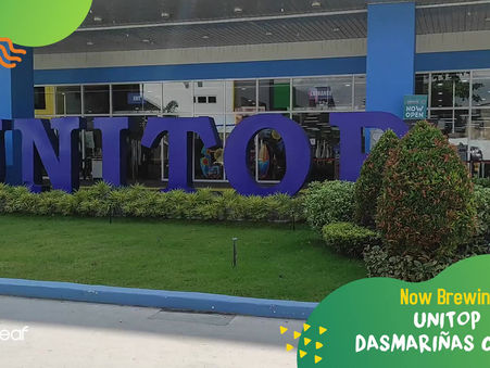 Our Unitop Dasmariñas, Cavite branch is your newest hangout place. #GoodvibesInACup today!