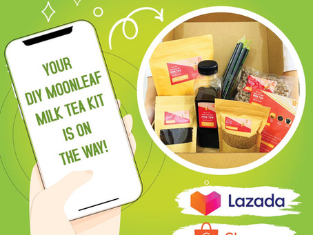DIY Milktea Kit In Lazada and Shopee