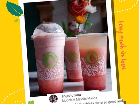 #BerryMuchInLove this February since it's a Strawberry-pretty-in-pink month! @anjcolumna