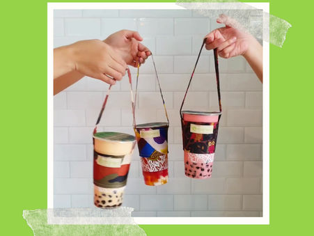 Tropical Plunge In Moonleaf Cup Holder