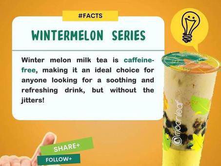 Why wintermelonilk tea?
