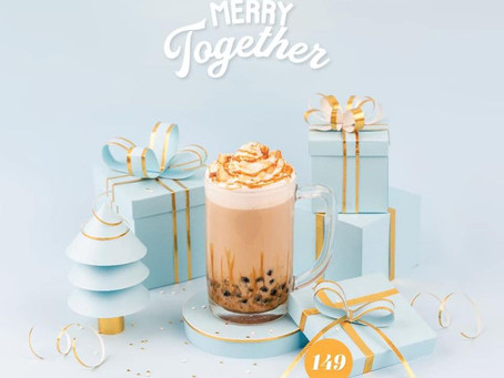 NEW DRINK ALERT: Caramel Cookie Crunch!